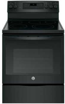 "GE JB750DJBB - 30"" Freestanding Electric Range with 5 Heating Elements"
