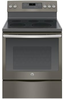 "GE JB750EJES - 30"" Freestanding Electric Range with 5 Heating Elements"