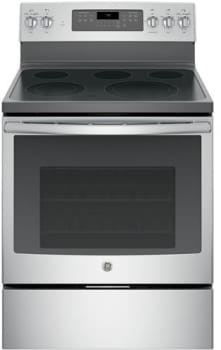"GE JB750SJSS - 30"" Freestanding Electric Range with 5 Heating Elements (Shown in Stainless Steel)"