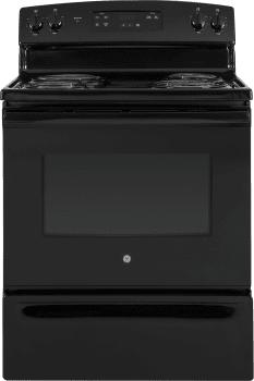 GE JBS30DKBB - Black Front View