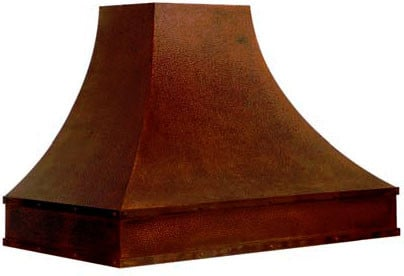 Vent-A-Hood Designer Series JDH360C1OLAS - JDHC1OLAS Magic Lung Designer Series Wall Mount Hood with Antique Hammered Copper Finish and Trim