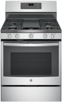 Ge Jgb700sejss 30 Inch Freestanding Gas Range With Edge To