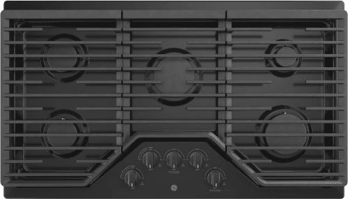 GE JGP5036DLBB - Black Front View