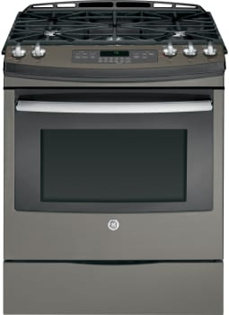 GE JGS750EEFES - 30 Inch Slide-in Gas Range from GE