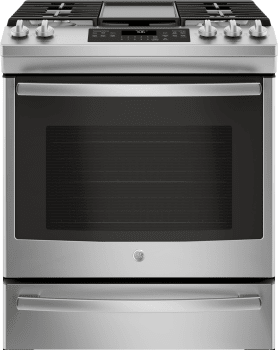 GE JGS760SELSS - Stainless Steel Front View