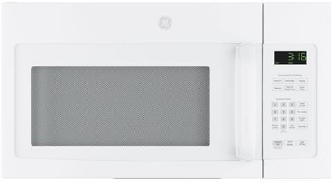 GE JNM3163DJWW - 1.6 cu. ft. Over-the-Range Microwave Oven with 1,000 Watts