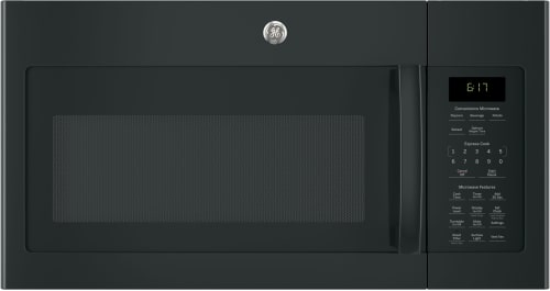 GE JVM6172DKBB - 1.7 Cu. Ft. Over-the-Range Microwave Oven in Black