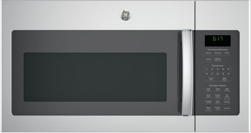 GE JVM6172K - 1.7 Cu. Ft. Over-the-Range Microwave Oven in Stainless Steel