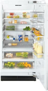 "Miele MasterCool Series K1903SF - 36"" Fully Integrated All-Refrigerator"