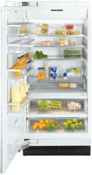 "Miele MasterCool Series K1913SF - 36"" Fully Integrated All-Refrigerator"
