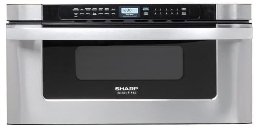 "Sharp KB6525PS - 30"" Built-in Microwave Drawer with 1.2 cu. ft. Capacity"