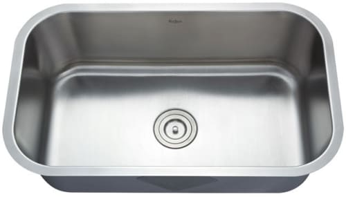 "Kraus KBU14 - 30"" Undermount Singel Bowl Sink"