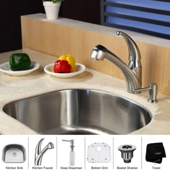Kraus Kitchen Combo Series KBU10KPF2110SD20 - Lifestyle View