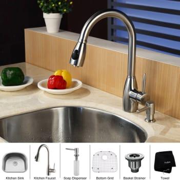 Kraus Kitchen Combo Series KBU10KPF2130SD20 - Lifestyle View