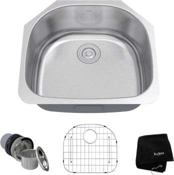 Kraus Kitchen Sink Series KBU10 - Main View
