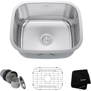 Kraus Kitchen Sink Series KBU11 - Main View