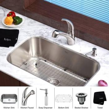 Kraus Kitchen Combo Series KBU14KPF2110SD20 - Featured View