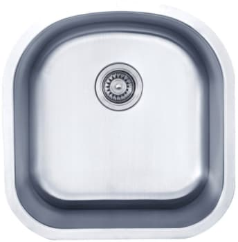 "Kraus KBU15 - 20"" Stainless Steel Single Bowl Sink"