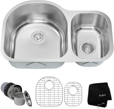 Kraus Kitchen Sink Series KBU21 - Main View