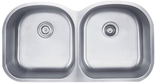 "Kraus KBU28 - 39"" Double Bowl Stainless Steel Sink"