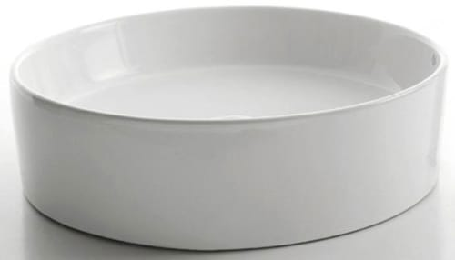 Kraus White Ceramic Series KCV140CH - White Round Ceramic Sink