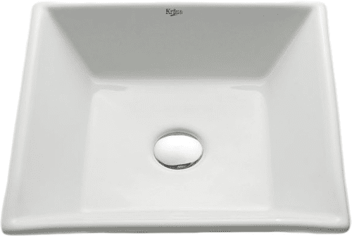 Kraus White Ceramic Series KCV125ORB - Feature View