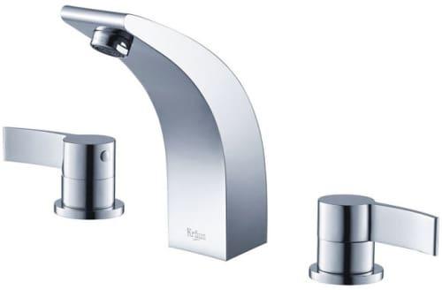 Kraus Illusio Series KEF14703PU11CH - 3-Hole Illusio Faucet