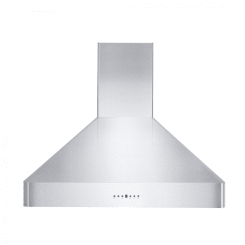 Zline Kf230 Convertible Wall Mount Range Hood With 4 Speed 400 Cfm Blower Directional Leds Stainless Steel Dishwasher Safe Baffle Filters And Delayed Shutoff 30 In Stainless Steel