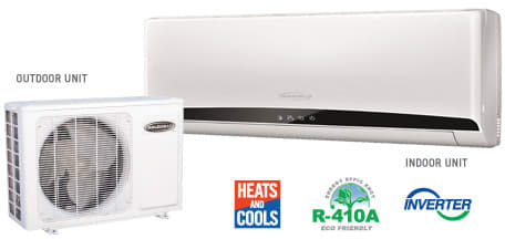 Soleus KFCHP522 - Soleus Mini Split Air Conditioner System
