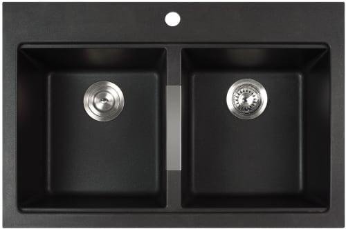 Kraus Kitchen Sink Series KGD433B - Front View