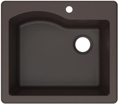 Kraus Quarza Series KGD441BROWN - Brown Main View