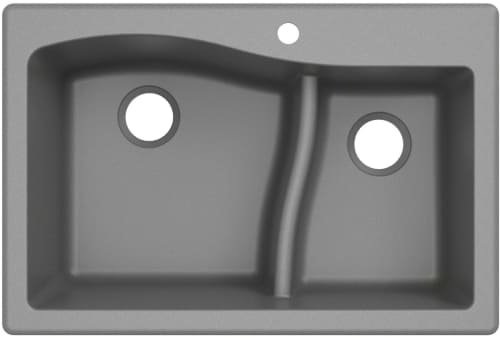 Kraus Quarza Series KGD442GREY - Grey Main View