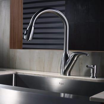 Kraus Kitchen Combo Series KHF20033KPF2120SD20 - Lifestyle View