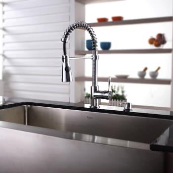 Kraus Kitchen Combo Series KHF20036KPF1612KSD30CH - Lifestyle View