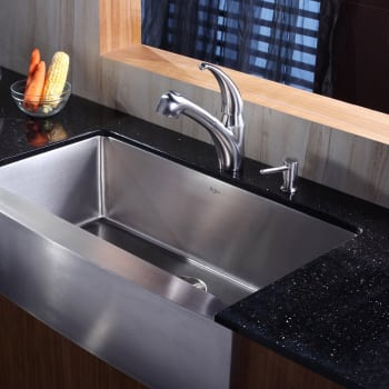 Kraus Kitchen Combo Series KHF20036KPF2110SD20 - Lifestyle View
