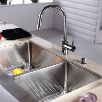 Kraus Kitchen Combo Series KHF20333KPF1622KSD30CH - Lifestyle View