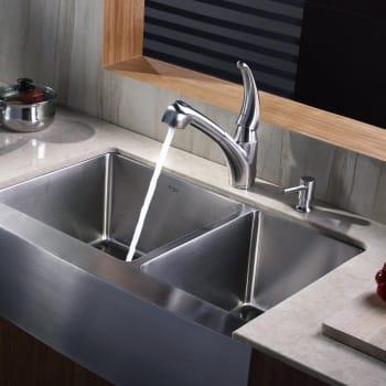 Kraus Kitchen Combo Series KHF20333KPF2110SD20 - Lifestyle View