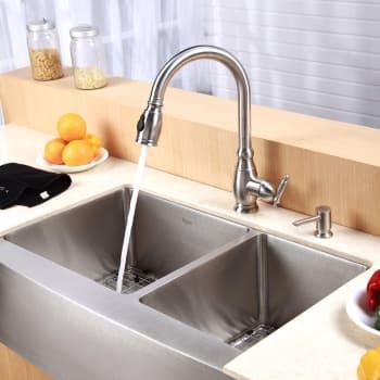 Kraus Kitchen Combo Series KHF20333KPF2150SD20 - Lifestyle View
