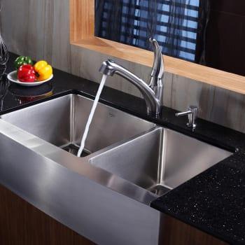 Kraus Kitchen Combo Series KHF20336KPF2110SD20 - Lifestyle View