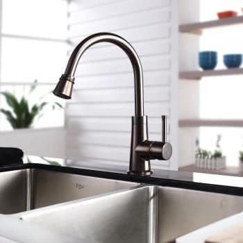 Kraus Kitchen Combo Series KHF20336KPF2220KSD30ORB - Lifestyle View