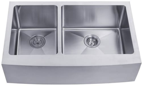 Kraus Kitchen Sink Series KHF20433 - Farmhouse Apron Double Bowl Sink
