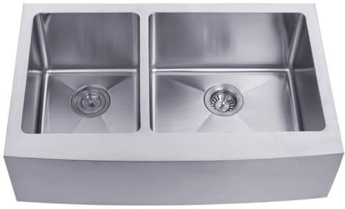 kraus kitchen sink series khf20433 farmhouse apron double bowl sink - Kraus Sinks