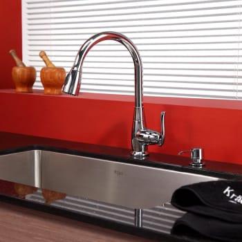 Kraus Kitchen Combo Series KHU10030KPF2230KSD30CH - Lifestyle View