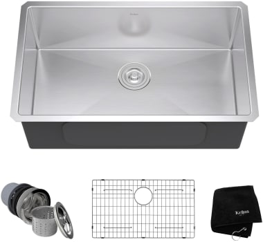 Kraus Kitchen Sink Series KHU10030 - Top View