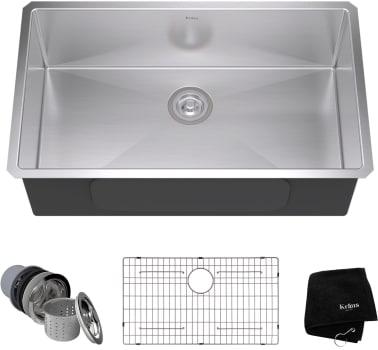 Kraus Kitchen Sink Series KHU10032 - Top View