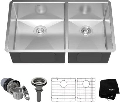 Kraus Kitchen Sink Series KHU10333 - Top View