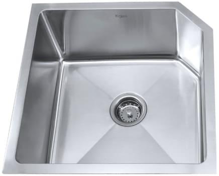 Kraus Kitchen Combo Series KHU12123KPF2130SD20 - Stainless Steel Undermount Sink