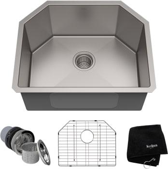 Kraus Kitchen Sink Series KHU12223 - Top View