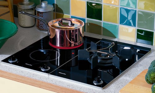 Miele KM406 - Ceramic Double Burner & Wok Burner (Design Consideration)