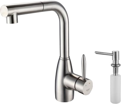Kraus Kitchen Faucet Series KPF2140SD20 - Faucet and Soap Dispenser